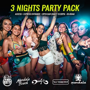 3 Night Party Pack Cancun